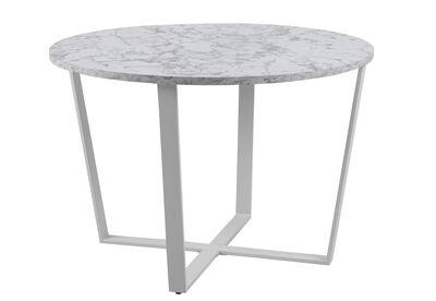 ALVARADO - White Round Dining Table