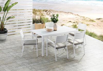 NORI - 7 Piece Outdoor Dining Setting