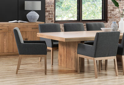 ARGENTO - 2400 Dining Table