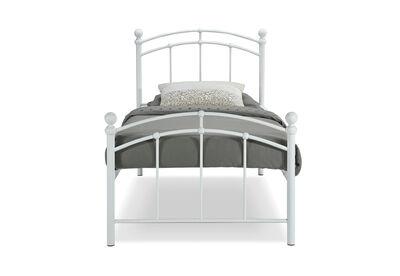 CHARLOTTETOWN - White Single Bed