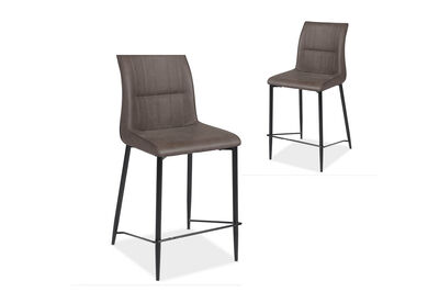 FOX - Set of 2 Bar Stools