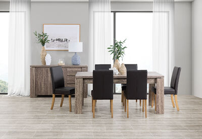 MAJESTY AND TRIUMPH - 7 Piece Dining Suite