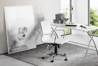 ACONITE - White Office Chair