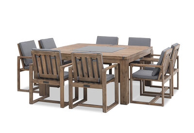 SHADOW2 - 9 Piece Outdoor Setting