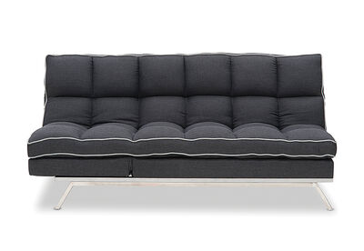 LUXURY - Fabric Click Clack Sofa Bed