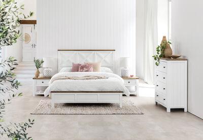 NORMANDY - 4 Piece Queen Bedroom Suite