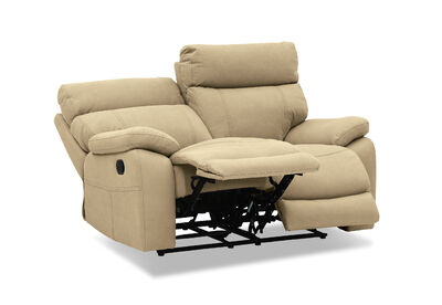 ALFRED - Fabric 2 Seater with Inbuilt Recliners