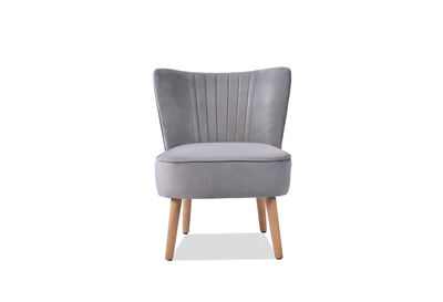 JANE - Grey Accent Chair