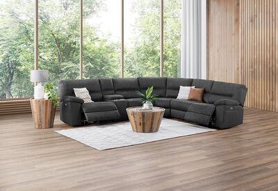 MAGNUS - Fabric Corner Suite