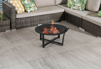 JARVIE - Fire Pit with Grill