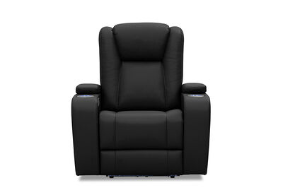 OPTIMUS - Leather-Look Electric Recliner