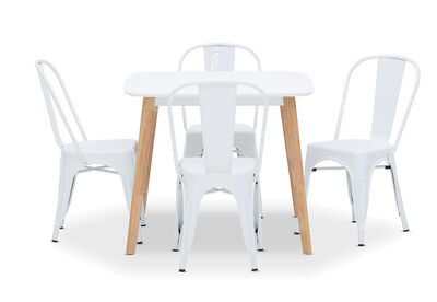 SVEN - 5 Piece Dining Suite with Rocket Dining Chairs