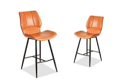EBEN - Set of 2 Bar Stools