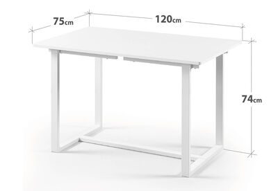 MOLINA - White Dining Table