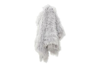 ARCTIC - Faux Fur Throw Rug Long Pile