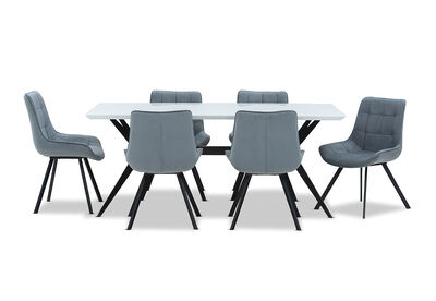 BLAZE - 7 Piece Dining Suite