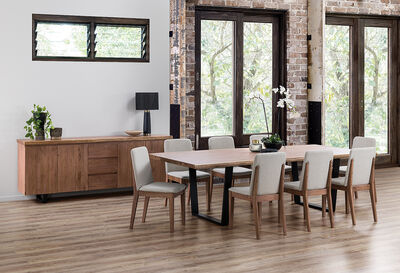 NERO - 9 Piece Dining Suite