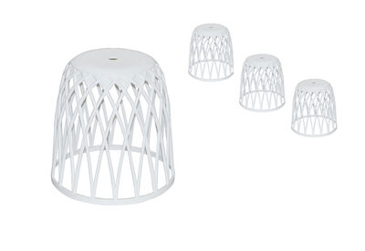 AELLA - Set of 4 Outdoor Stools