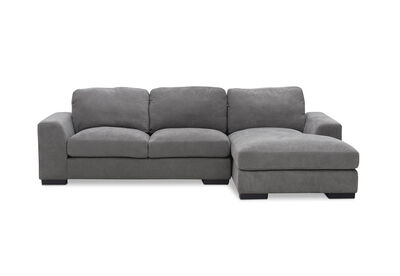 MARLOW - Fabric 3 Seater RHF Chaise