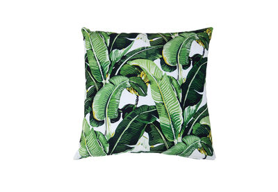 SOLANO - Green Leaves Outdoor Cushion