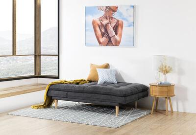 BAILEY - Fabric Click Clack Sofa Bed