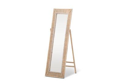 ARCH - Woven Floor Mirror