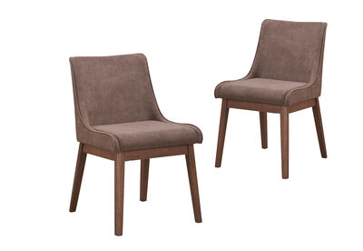ROSARIO - Set of 2 Dining Chairs