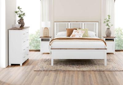 KOTA - 4 Piece Queen Bed Suite