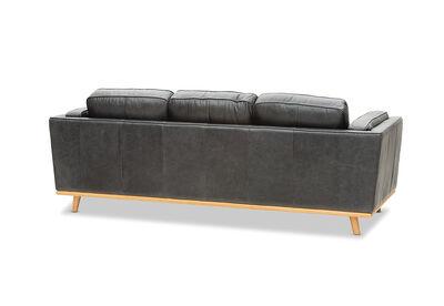 GIORGIO - Leather 3 Seater Sofa