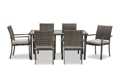 RIVA - 7 Piece Outdoor Setting