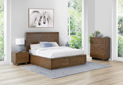 SORVINO - 4 Piece Queen Bedroom Suite