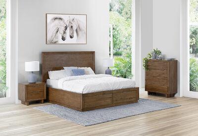 SORVINO - 4 Piece King Bedroom Suite