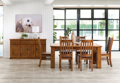 SETTLER - 7 Piece Dining Suite