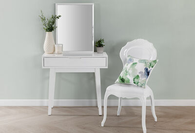 BELLEVILLE - White 800 Dresser with Mirror