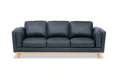 GIORGIO - Leather 3 Seater Sofa