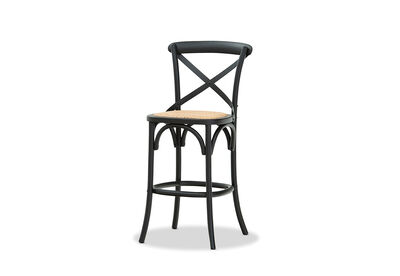 BORDEAUX - Cross Back Stool