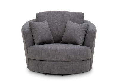 OMAHA - Fabric Swivel Chair