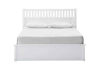 MAYSVILLE - White Queen Lift Bed