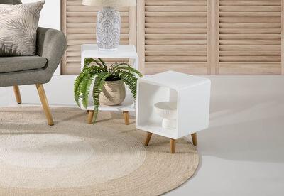 VALENTINE - Set of 2 Nesting Lamp Tables
