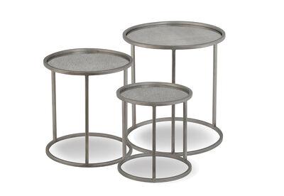 RHINEBECK - Set of 3 Nesting Tables