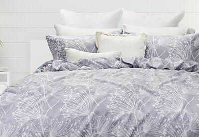 DANDELION - Thermal Flannel Quilt Cover Set - Queen