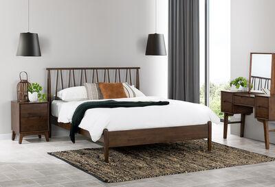 MESSINA - Brown Queen Bed