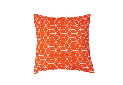 SOLANO - Orange Cubes Outdoor Cushion