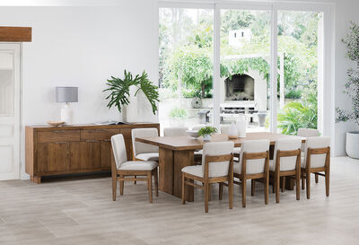 SORVINO - 11 Piece Dining Suite