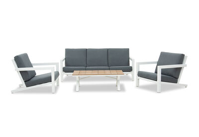 ELWOOD - 4 Piece Outdoor Lounge Setting