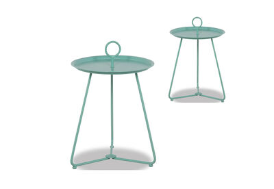 ALBAN - Set of 2 Outdoor Side Tables