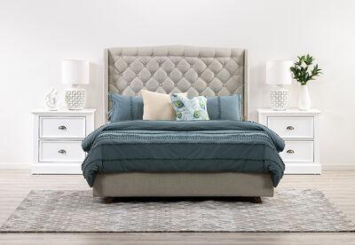 ARAGON - 3 Piece Queen Bedroom Suite