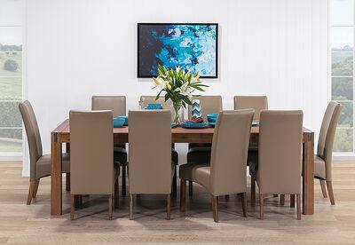 SILVERWOOD - 11 Piece Dining Room Suite