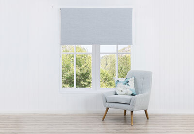 RISE - Textured Blockout Roller Blind 90 x 240cm