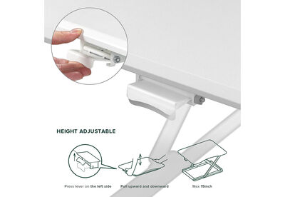 GRIFFITH - White Standing Desk Riser